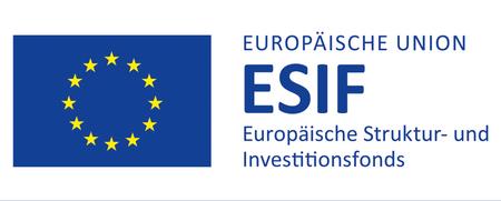 Logo Europäische Struktur- und Investitionsfonds